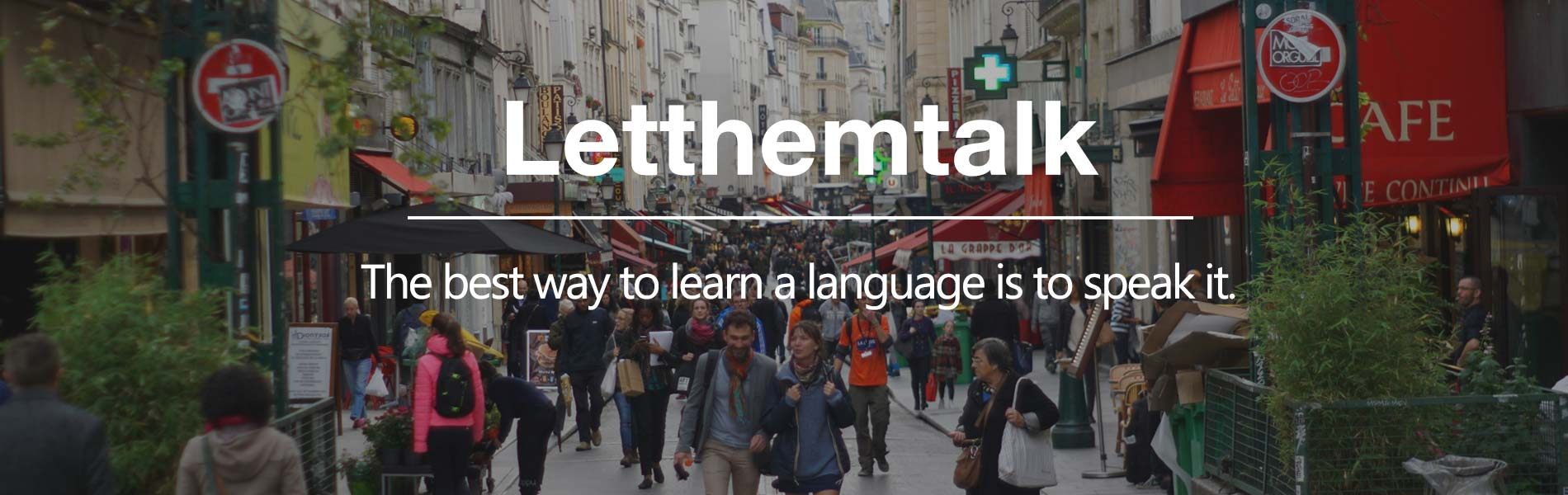 LetThemTalk Language School Paris